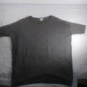 Lularoe grey shirt small